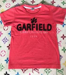 Garfield Dark Pink Tshirt