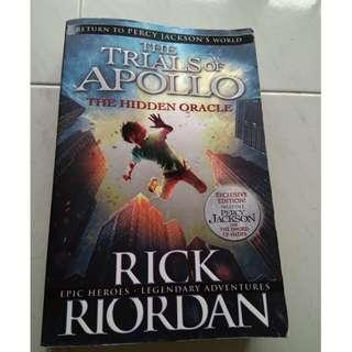 The trials f Apollo the hidden oracle