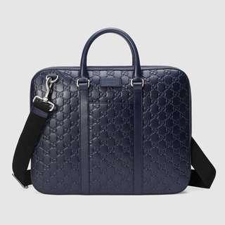 Gucci 男裝公司包 - 黑色
