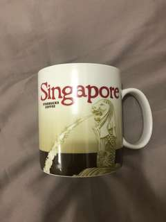 Starbucks Mug Singapore Brown
