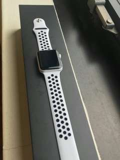 Nike+ GPS Apple iWatch Series 3 for sale.