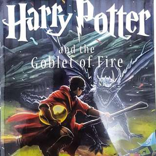 Harry Potter and The Goblet Of Fire #4 in English