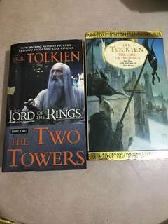 Lord of the Rings Book 2 and 3