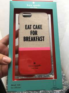 Authentic Kate Spade Iphone 6/6S case