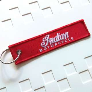 Vintage Indian Motorcycle Keychain