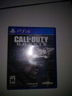 BD PS4 CALL OF DUTY GHOSTS