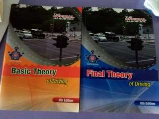 Basic and final driving theory books
