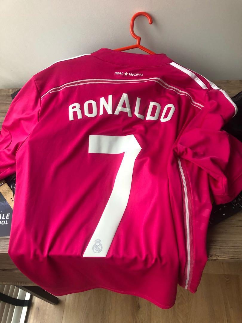on sale 0992d 8a47a 14/15 real madrid ronaldo jersey, Sports, Sports Apparel on ...