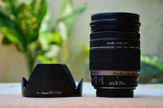 Lensa Telle Sapujagad Canon 18-200mm NO MINUS