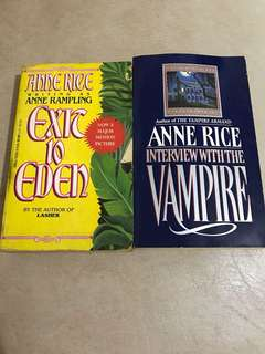 Anne Rice - Exit to Eden and Interview with a Vampire