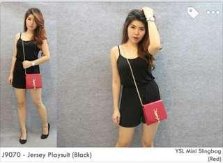 Jersey Playsuit