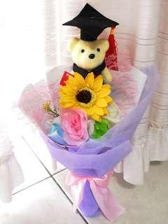 Graduation Bear Bouquet