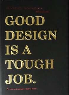 Good Design is a Tough Job Book