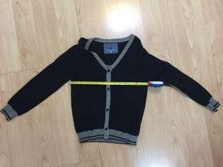 全新 Zara 針織外套 (size : 5-6, 118 cm)