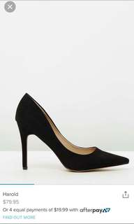 Verali high heels size 9.5 9 Harold black
