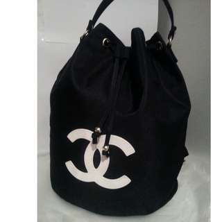 Chanel VIP Black/White Backpack/Tote Bag Brand New Release!!!