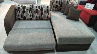 Sofa L bed bisa kredit promo tanpa DP