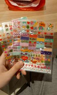 Sticker DIY miniso