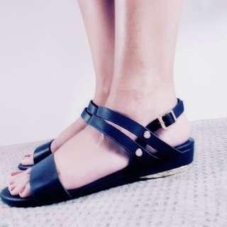 CLN Navy Blue Sandals