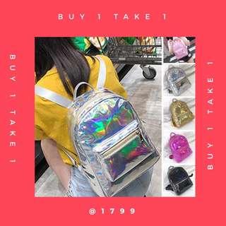 buy1take1 hologram bag