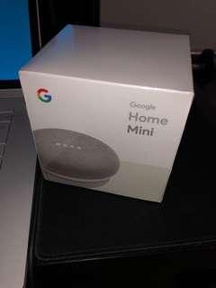 Google Home Mini 未開盒 未除套 100%全新