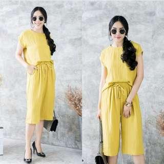 sale!!free ongkir k jkrt (yellow set)
