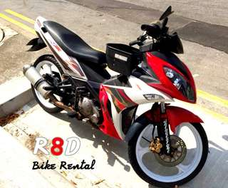 X1R motorbike rental