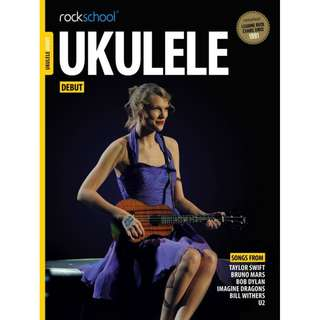 *SALE* BRAND NEW Rockschool Ukulele Book (Debut)