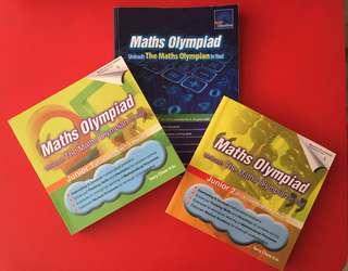 Maths Olympiad Junior 1 (Pr 1&2), Junior 2 (Pr 2&3), Beginner (Pr 3&4)