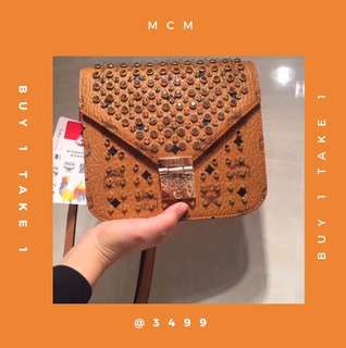 50% off Buy1take1 MCM bag