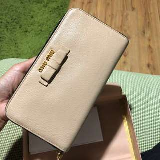 💯 miumiu nude brown +receipt