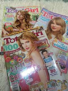 Taylor Swift Total Girl Magazines Bundle
