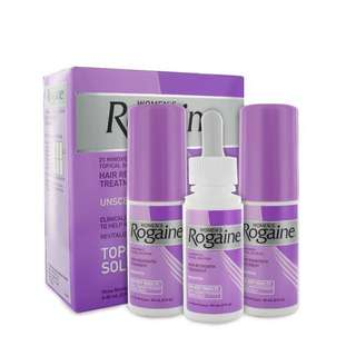Rogaine Hair Regrowth Treatment for Women 2% Minoxidil for 3 months | 3 bottles |