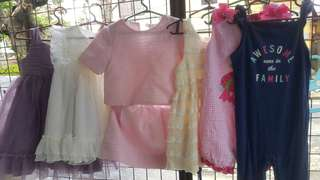 Dresses and romper18 to 24m