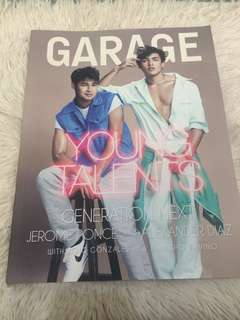 Jerome Ponce & Alexander Diaz on Garage Magazine