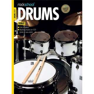 *SALE* BRAND NEW Rockschool Drums Book (Debut / Grade 2)