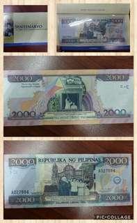 2000-Piso Centennial Note