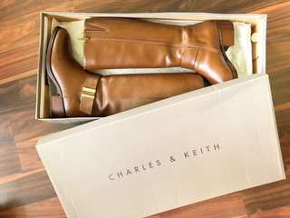 Charles & Keith Knee Boots