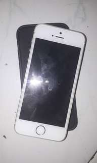 IPHONE 5S 32GB SILVER BEKAS