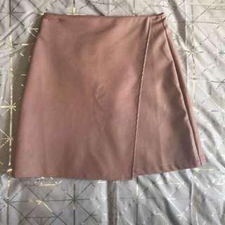BNWT Sizs 6/8 leather skirt