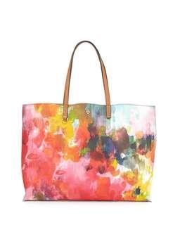Tory Burch Kerrington Watercolor Floral Tote Bag  水彩印花手袋