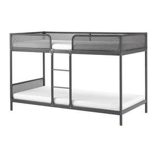 Double deck bed 90x200 cm frame only, no mattress
