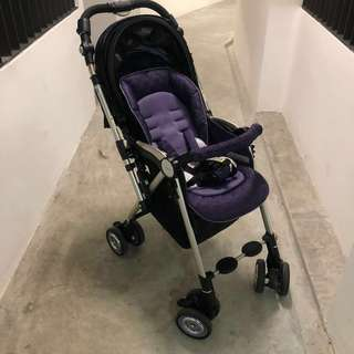 Aprica Soraria Premium Stroller (rare purple model)
