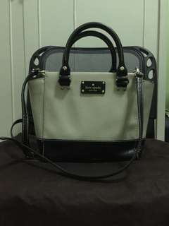 Authentic kate spade 2 way bag😍