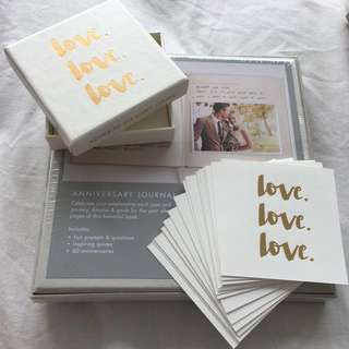 BNIP Kikki K Anniversary Journal and Message Cards
