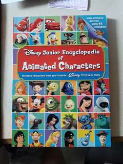 Picture Dictionary for cartoon character book