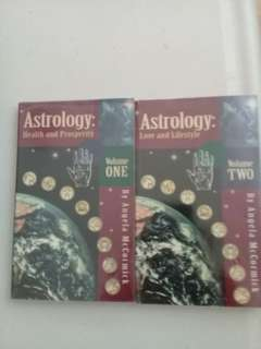 Astrology volume 1 and 2 by Angela McCormick