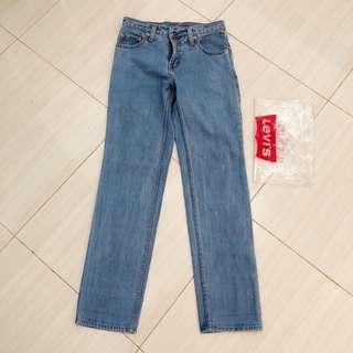 Celana jeans boyfriend levis ori