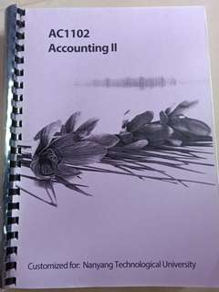 AC1102 Accounting Textbook