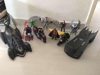 Batman figurines